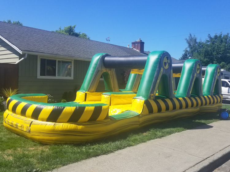 35ft Long Nuclear Slip N' Slide